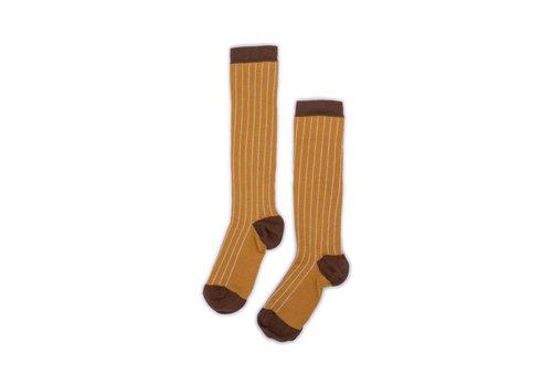 Monkind Monkind socks gold stripe