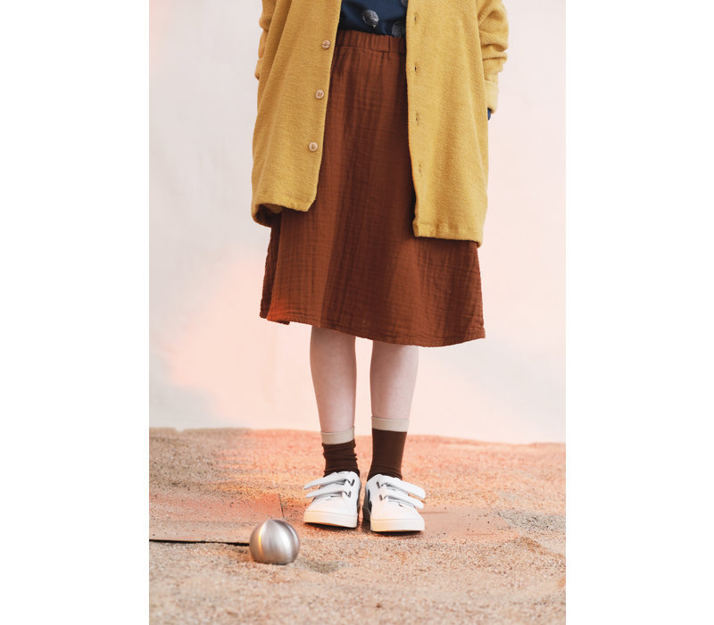 Monkind skirt midi dust