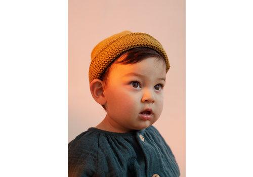 Monkind Monkind beanie knit gold