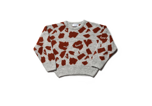 Wynken Wynken knit sweater print