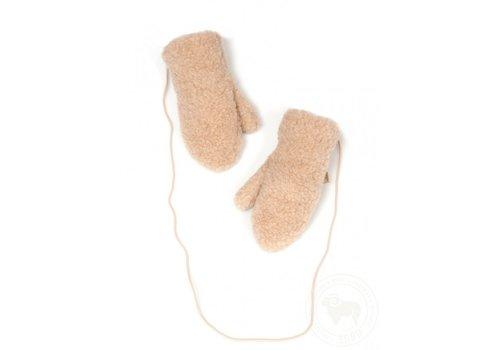 Alwero Alwero handschoentjes wol beige