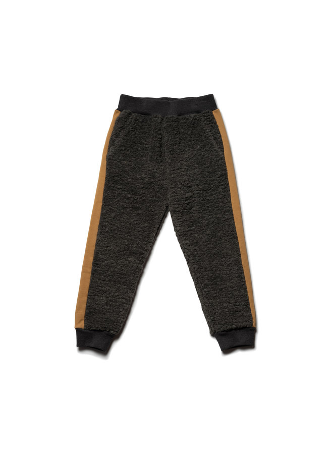 Wynken trackpants charcoal fur