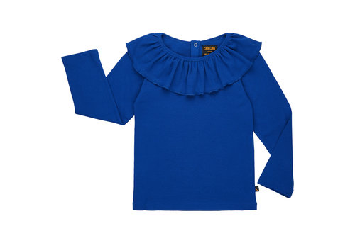 CarlijnQ CarlijnQ collar longsleeve blue