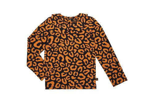 CarlijnQ CarlijnQ longsleeve collar leopard