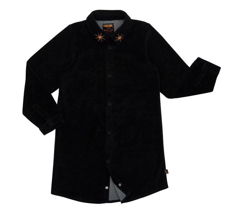 CarlijnQ velvet blouse dress star