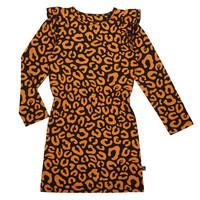 CarlijnQ ruffled dress leopard
