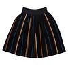 CarlijnQ CarlijnQ long skirt velvet stripe