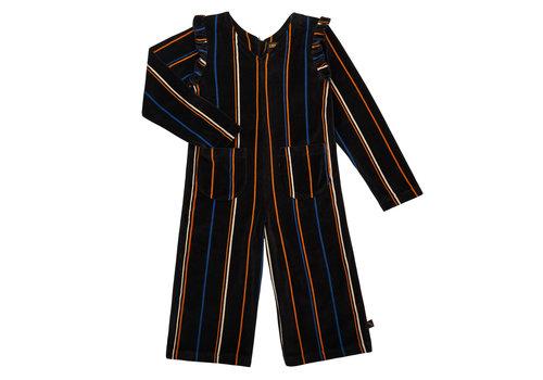 CarlijnQ CarlijnQ onepiece velvet stripe