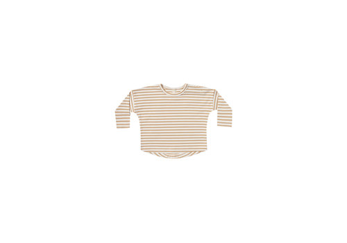 Quincy mae Quincy mae longsleeve striped honey