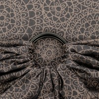 Fidella ring sling mosaic mokkabraun