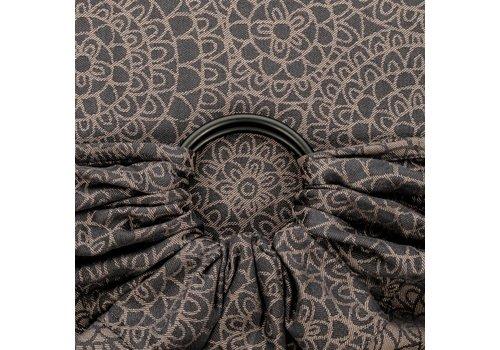 Fidella Fidella ring sling mosaic mokkabraun