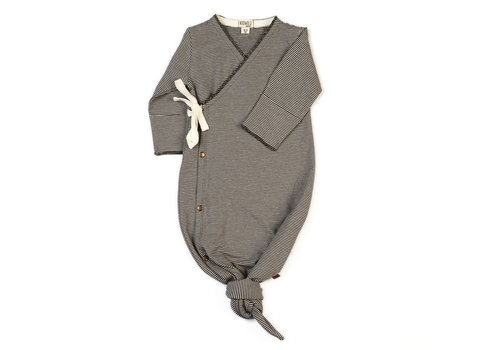 Kidwild Kidwild kimono gown knit stripe