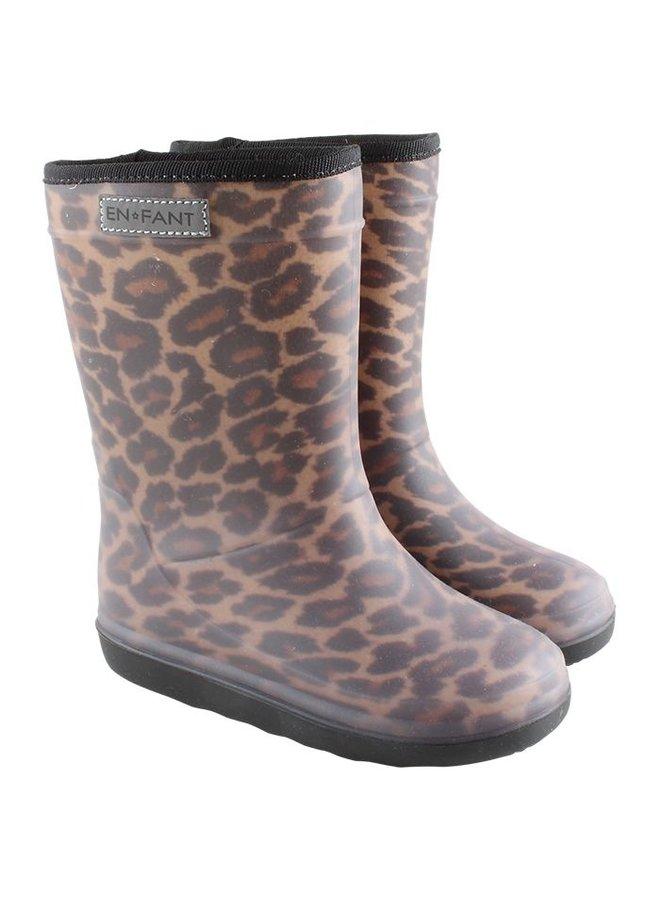 Enfant laarzen leopard brown