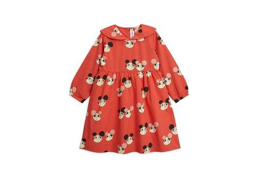 Mini Rodini Mini Rodini ritzratz sailor dress red