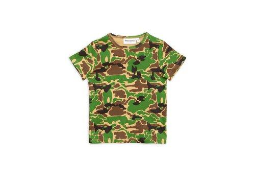 Mini Rodini Mini Rodini t-shirt camo green