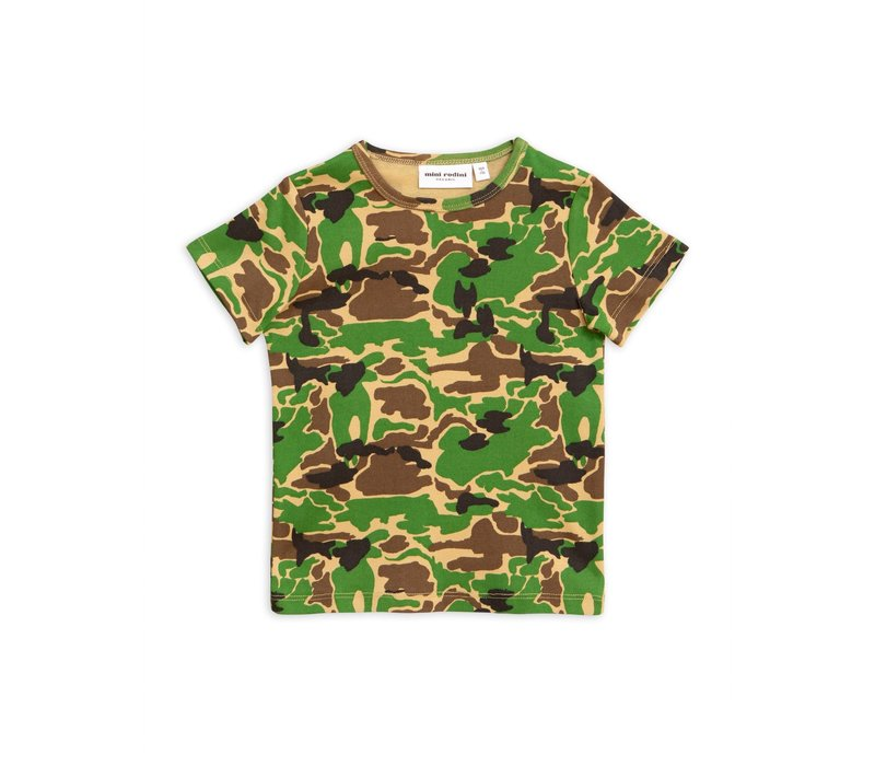 Mini Rodini t-shirt camo green