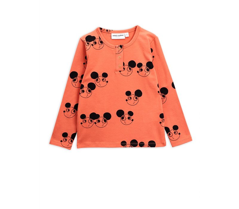 Mini Rodini longsleeve ritzratz red