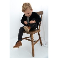 Mockies kids boots brown/black