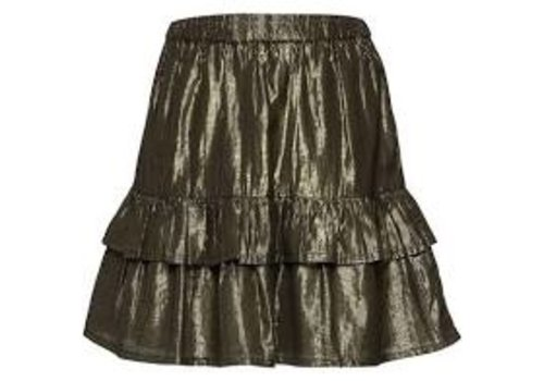 Soft gallery Soft gallery skirt black gold lurex