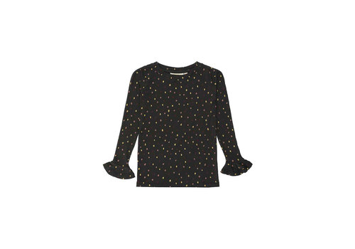 Soft gallery Soft gallery elia longsleeve dotties black