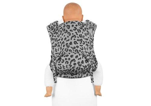 Fidella Fidella fly tai mei tai carrier leopard silber toddler