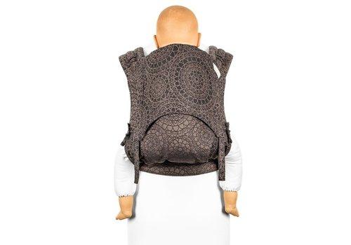 Fidella Fidella flyclick plus halfbuckle carrier mosaic mocha brown toddler
