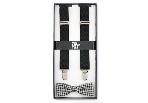 We love ties We love ties holly houndstooth