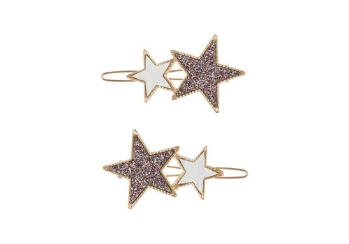 Mimi & Lula Mimi & Lula hairclips gold star