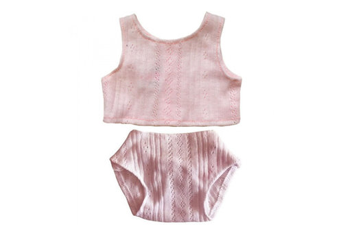 Minikane Minikane ondergoed roze voor pop gordi