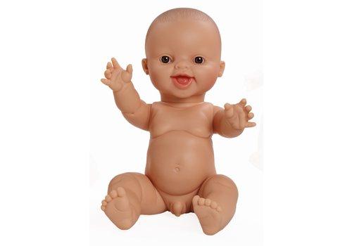 Minikane Minikane pop gordi jongen lachend 34cm