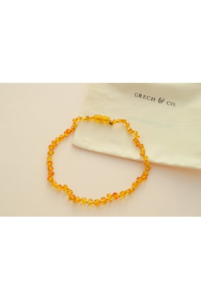 Grech & Co necklace amber enlighten