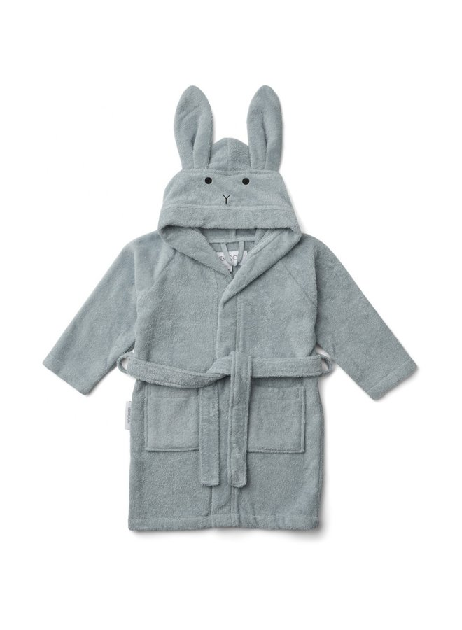 Liewood badjas rabbit blue