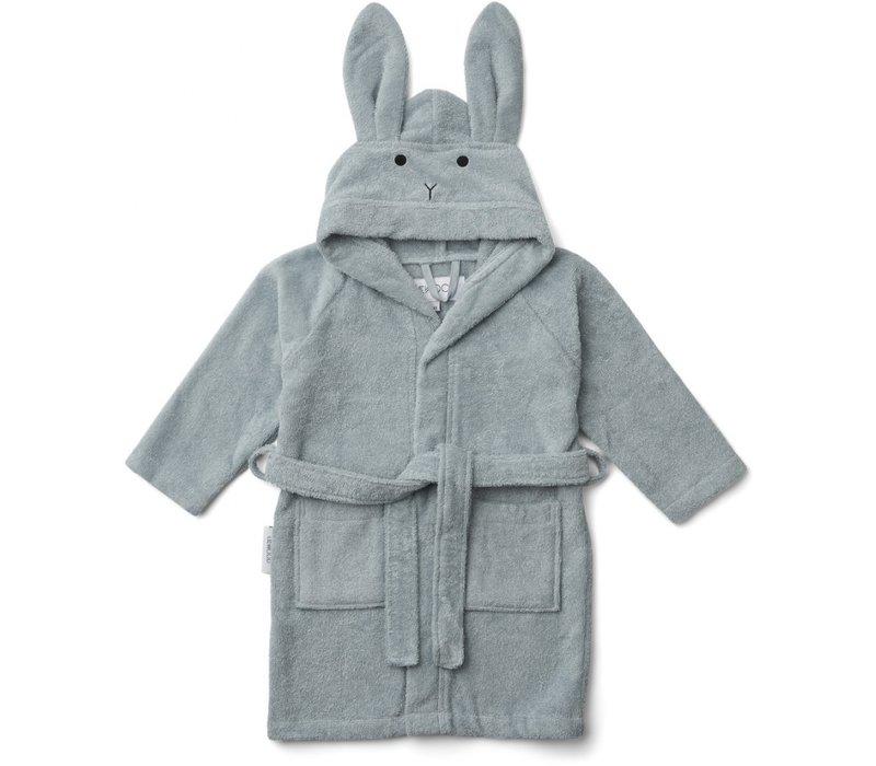Liewood badjas rabbit blue