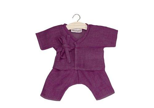 Minikane Minikane kimono pakje paars