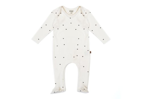 Kidwild Kidwild footed jumpsuit star