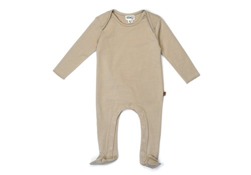 Kidwild Kidwild footed jumpsuit dune