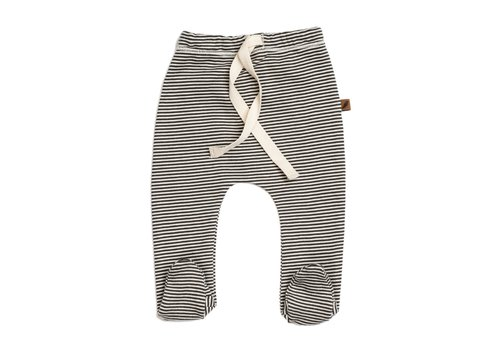 Kidwild Kidwild footed pants knit stripe