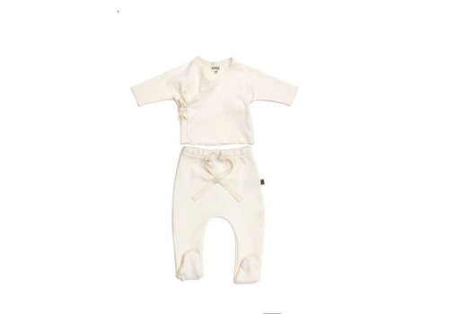 Kidwild Kidwild footed pants vanilla