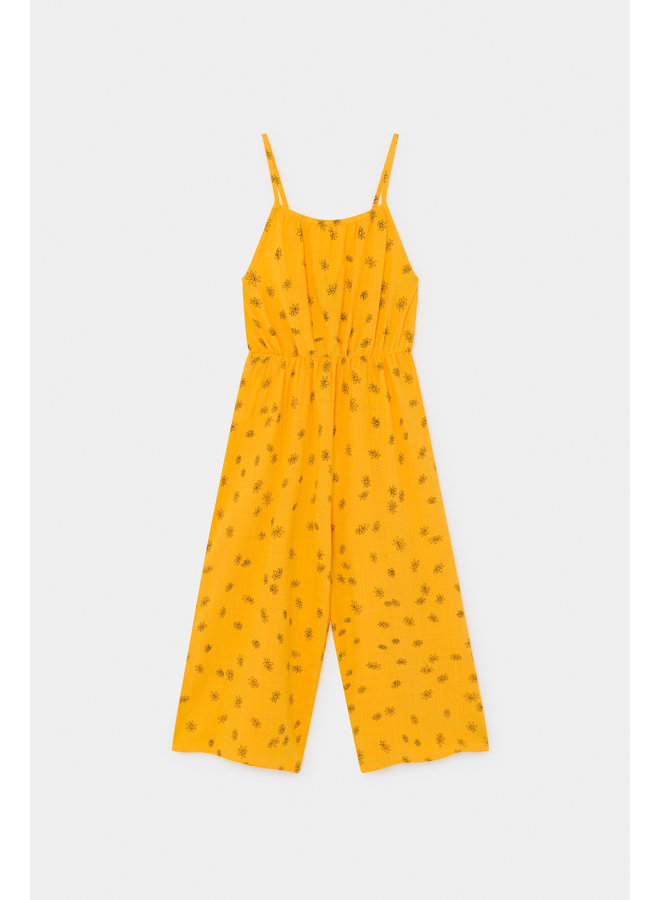 Bobo Choses kids woven overall daisy spectra yellow