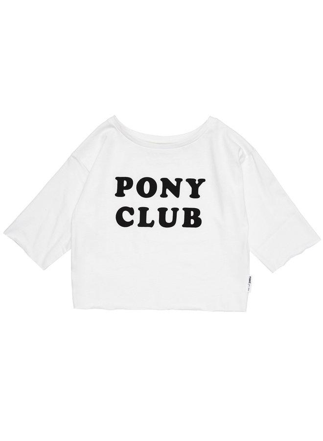 Maed for mini t-shirt pony club