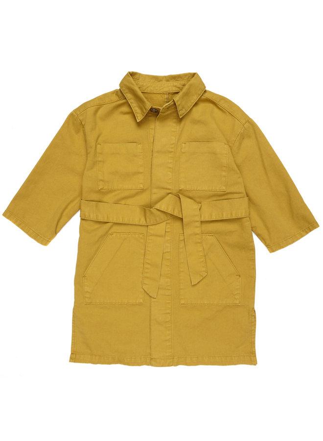 Maed for mini long coat golden grashopper