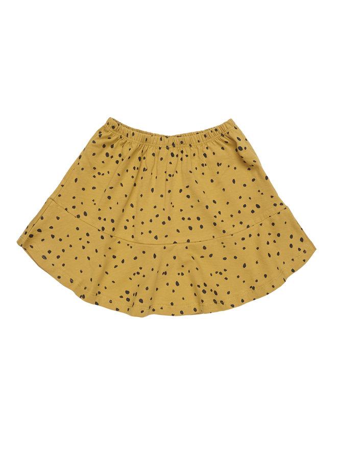 Maed for mini skirt ochre ocelot