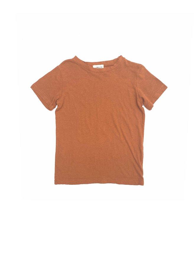 Long live the queen 11009-438 t-shirt caramel