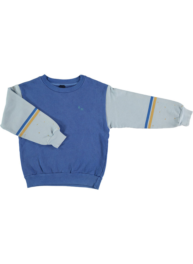 Bonmot sweater brusstroke blue