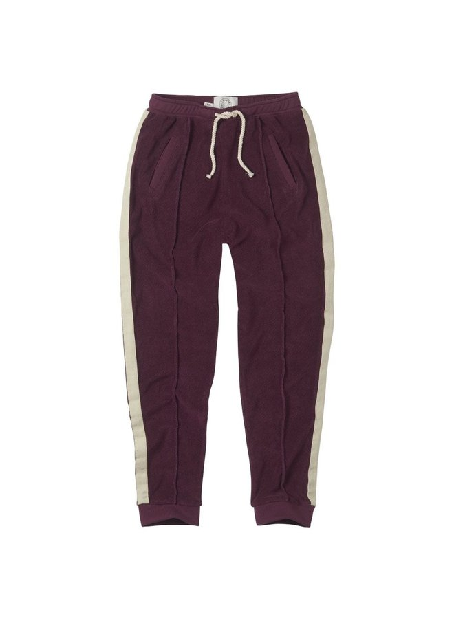 Sproet & Sprout pants terry eggplant
