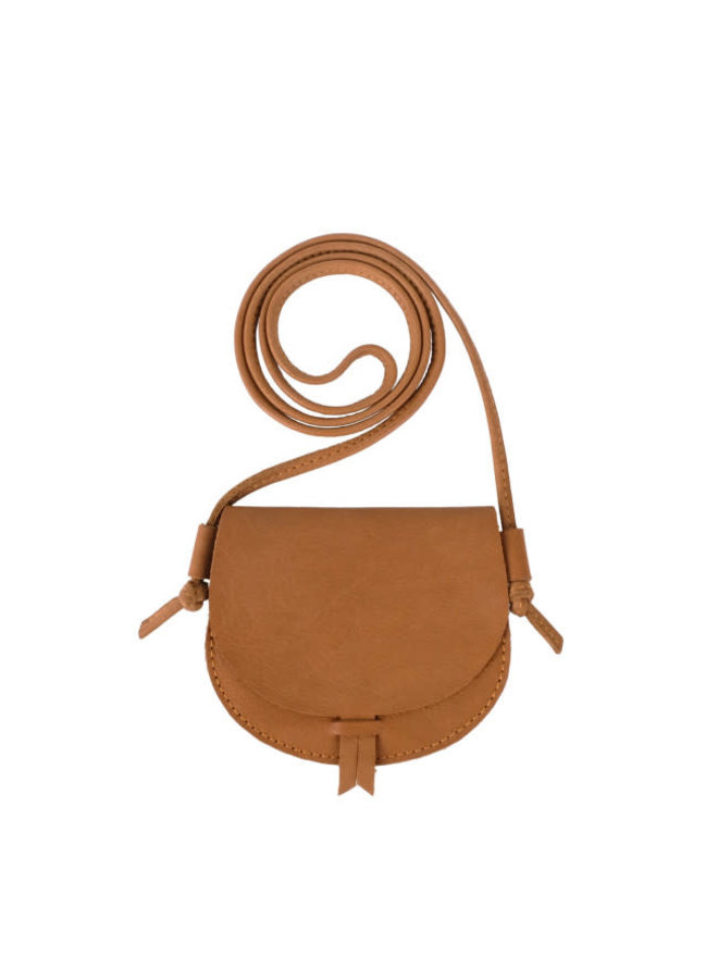 Boumy hicky purse cognac leather
