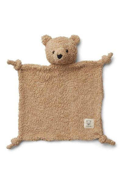 Liewood knuffeldoek lotte beer beige