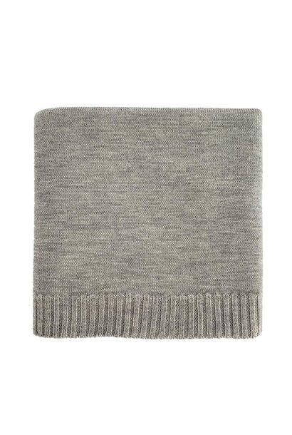 hvid blanket didi grey melange
