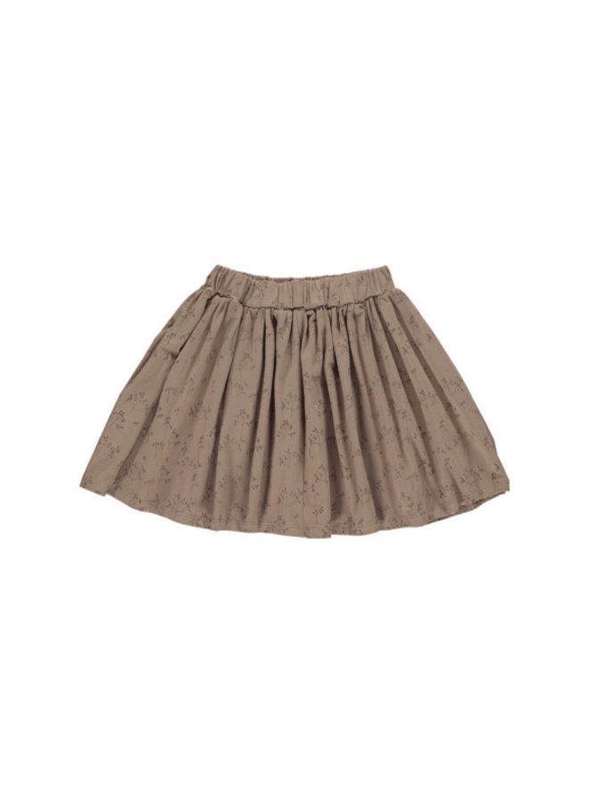 Gro company ebru skirt umber
