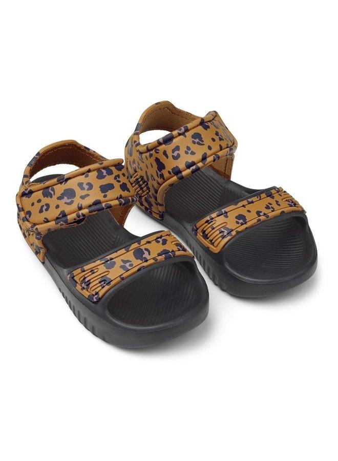 Liewood blumer sandals mini leo mustard